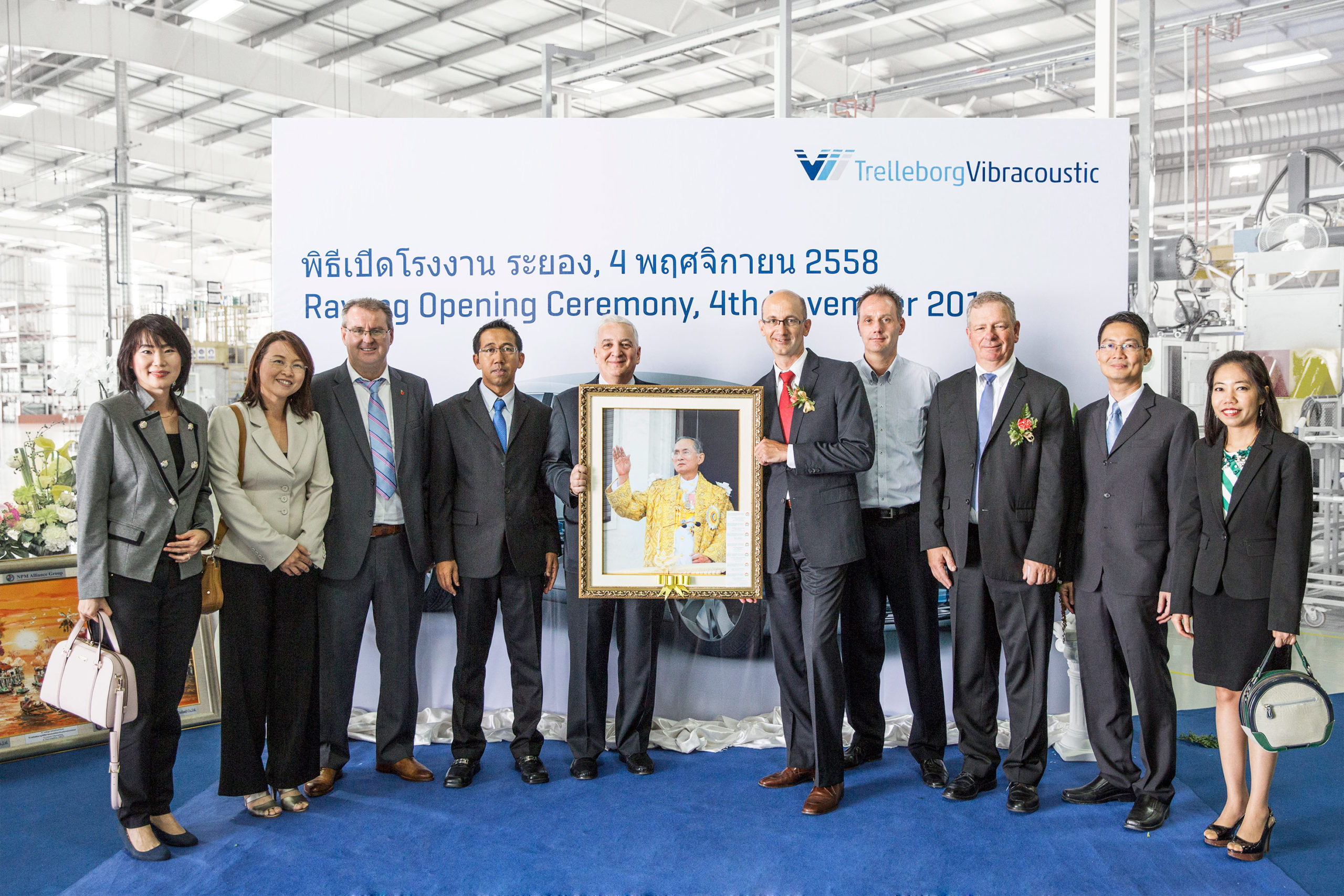 TrelleborgVibracoustic eröffnet Werk in Thailand