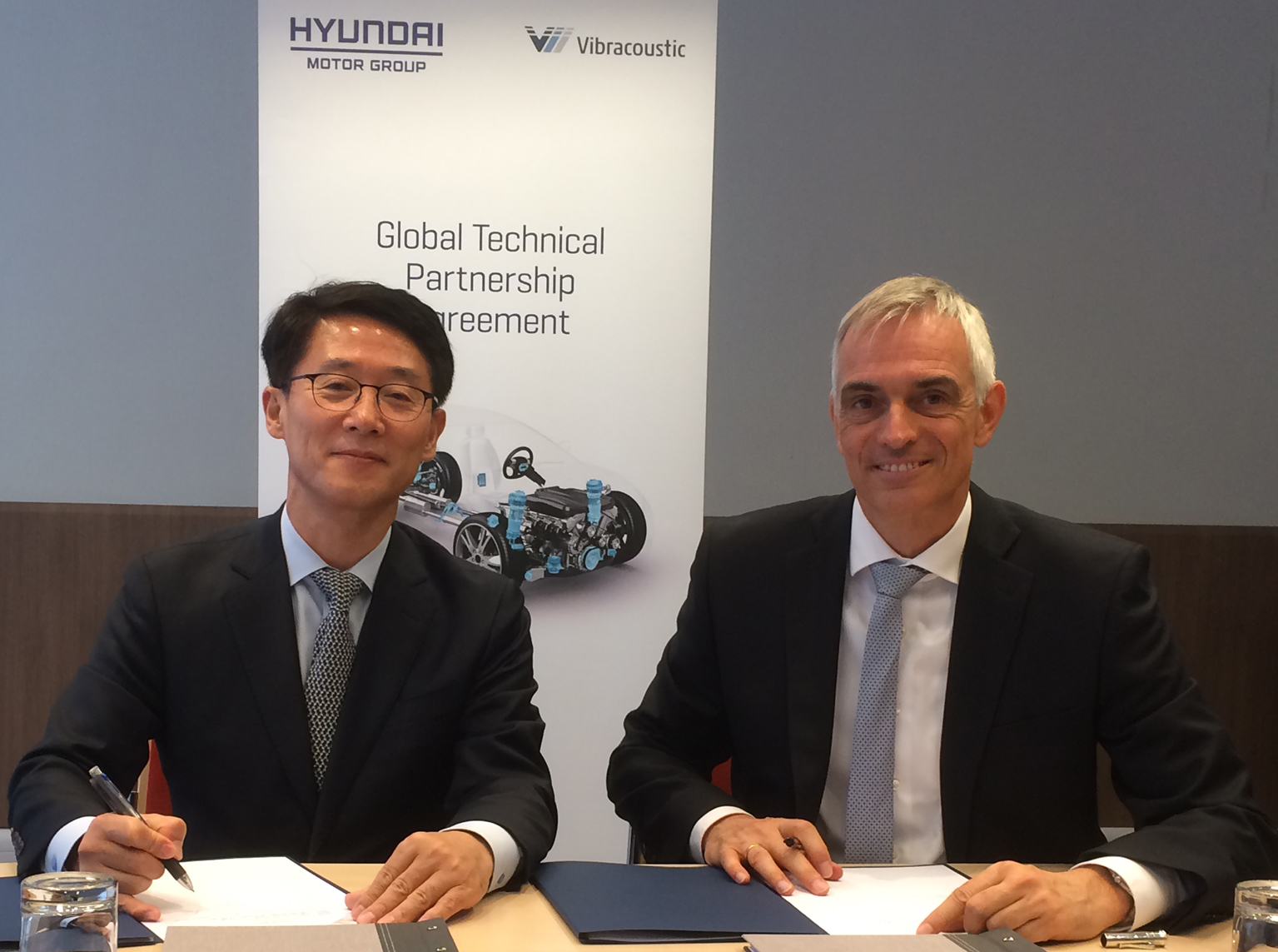 Hyundai Vibracoustic technical partnership